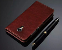 تصميم جميل لMEIZU ميلان معدن حالة فليب فاخر حامل الملونة الأصلية محفظة جلدية الغلاف القضية لMEIZU ميلان المعادن
