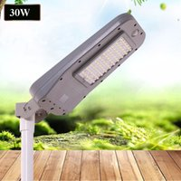Lampade a LED Solar Street 60W 40W 20W 30W 85-100LM All-in-One Lampade Impermeabile Outdoor ABS PIR Sensore di movimento diretto Shenzhen China Factory