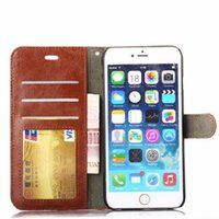 For Iphone XS Max XR Samsung S8 S9 Plus Wallet Case For Note...