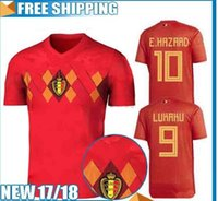 TOP Quality 2018 World Cup Belgium Soccer Jersey 2018 Home r...