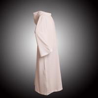 Religie Kostuums Nieuwe Katholieke Kerk Deacon Cobe Clergy Hooded White Alb aanbidding gewaden D006 Snelle verzending