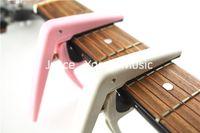 Joyo Naylon Gitar Capo Kelepçe İçin Akustik / Elektro Gitar Pembe Gri Ücretsiz Kargo Toptan Satış