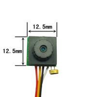 """600tvl 1/4 """"cmos fpv كاميرا مصغرة الثقب كاميرا مصغرة كاميرا الأمن فيديو المراقبة الرئيسية حزام الصحافة خط 5-12 فولت"""