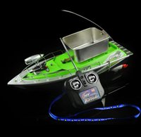 2016 Newest mini fast electric rc bait fishing boat 300M Rem...