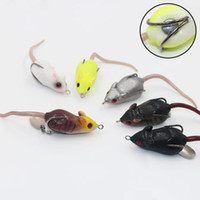 New Fishing Rubber Soft Lure Baits Mouse Frog Rat Frog 6cm 1...