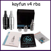 Kayfun V4 RBA Atomizer Large Capacity Rebuidable Tank vs Tai...