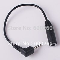 free shipping 2. 5 2. 5mm to 3. 5mm headphone adapter 3. 5 mm ja...