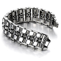 24mm Heavy Punk Men' s Chunky Motorcycle chain titanium ...