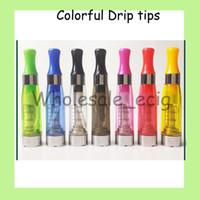 20 pçs / lote atomizador cigarro eletrônico ce4 atomizador mix cores 1.6 ml vs ce3 Ce4 + ce5 Ce8 Ce9 Mt3 Protank Clearomizer