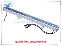 (2 개 / 많은) 무료 배송 IP65 led 홍수 빛 24 x 3w rgb 3in1 led 스트립 벽 세탁기, dmx led 벽 세탁기