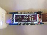 OLED 미니 USB 충전기 용량 전력 전류 전압 모바일 배터리 테스터 전력 검출기 전압 전류 미터