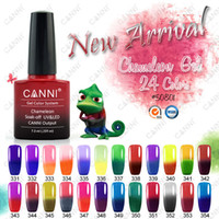 240pcs*7. 3ml Free Shipping CANNI Color Changing Thermal Cham...