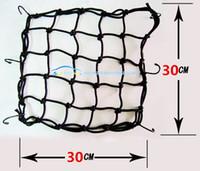 Casque de moto Sac à bagages Bagage Sangle Tank Débris Matériel Knight Equipement Élastique Corde Net Cover Cover Refit Accessoires 10 pièces / Lot