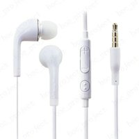 삼성 S6 에지 S5 S4 주 5 주 4의 1000PCS / 로트 인 이어 스테레오 이어폰 3.5mm의 마이크와 헤드폰 헤드셋 및 원격