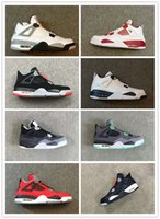 4s Classic 4 toro bravo white cement fear pack bred green gl...