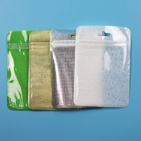 Clear Color Pearl Plastic Poly Bags OPP Packing Zipper Lock ...