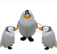 Palloncini da passeggio ambientale a piedi PET Foil Small Stampa animale Palloncini da passeggio personalizzati per Bambino come buoni giocattoli stampa consegna colorata