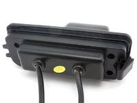 Pour la caméra de vue arrière de voiture Skoda Superb 2008-2013 / Caméra de recul, caméra de recul HD Vision nocturne