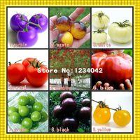 Semi di pomodoro 180PC, 9 varietà di semi di ortaggi in vaso, semi di pomodoro ciliegino