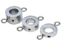 Anneau pénien masculin Cock Ring en métal S / M / L Dispositif de retenue amovible pour anneaux péniens pour SM256 masculin