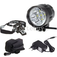 wholesale 5 x Cree XM- L T6 5T6 6000 Lumens 2 In 1 LED 3 Mode...