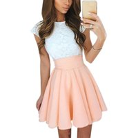 x201711 Lace Kawaii Dress Beach Summer Women Cute 2017 Flare...