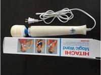 DHL 250R HITACHI Magic Wand Massager, vibración estupenda masaje, vibrador ,, massager del cuerpo completo, massager de la vibración 110V-250V, nave libre 10pcs