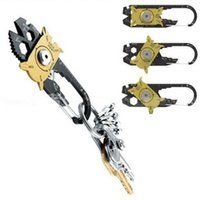야외 스포츠 휴대용 유틸리티 포켓 20 1 다기능 렌치 드라이버 오프너 EDC 생존 열쇠 고리 손 도구