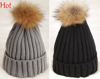 Top Hot Casual Beanies Women Cap Hats Knitted Winter Hat Rol...