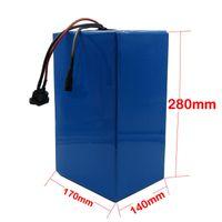 Haute qualité 72V batterie ebike 3000W 72V 30AH Batterie au lithium 3.7V 5AH 26650 Cellule 50A BMS avec 2A Chargeur Taxe de douane gratuite