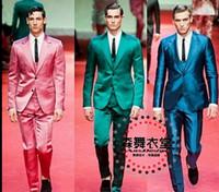 Hot new Direita Zhi-long homens cantor convidado DJ club top modelos de passarela 2015 Esmeralda ternos vestido de boate trajes Noivo terno