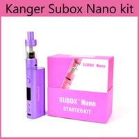 High Quality Kanger Subox Nano Starter kit Sub Tank Mini RDA...