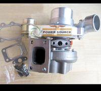 Navio livre GT28R GT2871R GT2871SR 743347-0001 Turbina Turbocharger Turbina de Rolamento de Esferas Para a afinação do veículo 1.8L-3.0L 250HP-450HP livre Juntas