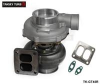"TANSK-YGT45R Turbocompressore A / R .70 posteriore A / R 1.00 T4 Twin Scroll 4 ""V-cooler radiatore olio TK-GT45R"