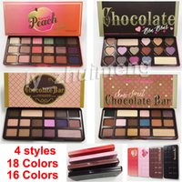 Factory Direct 18 color Sweet peach Eye Shadow palette Choco...