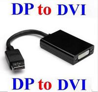 500pcs / lot * Thunderbolt 디스플레이 포트 DisplayPort 남성 DP - DVI 여성용 변환기 케이블 어댑터 PC 노트북