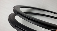 Tubular 45mm road bicycle rims 25mm wide 16 20h carbon bike ...