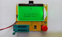 All'ingrosso-2015 Nuovo arrivo 12846 LCD M328 transistor digitale tester retroilluminazione diodo Triodo Capacità ESR Meter MOS / PNP / NPN L / C / R