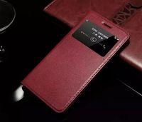 Alta qualidade para BBK Vivo X6 Além disso flip caso de Luxo Indicador colorido Bolsa em couro genuíno tampa bonito Original Para BBK Vivo X6 Além disso,