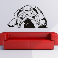 New 2015 English Bulldog Wall Art Sticker Vinyl Decal Wall S...
