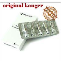 Kanger nuovo Dual Coils per Kangertech Protank 3 Mini Aerotank ii Mega Mini turbo EVOD2 T3D Atomizzatore topevod cleaomirzer 100% Originale