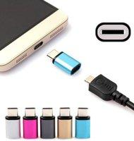 알루미늄 다채로운 USB 3.1 Type-C 어댑터 급속 충전기 데이터 Sync for Letv Umi iron pro / Meizu pro 5 USB 3.1 어댑터
