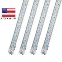 LEDチューブライト4 FT 4フィート18W 22W 28W LEDチューブフィクスチャ4フィートクリアカバーG13 120V電球照明小売/卸売