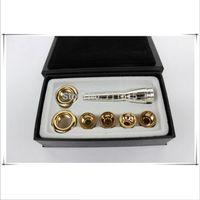 전문 작은 비비 트럼펫 마우스 피스 6 PCS / LOT 2C 3C 2B 3B 실버 도금 표면 순수 구리 트럼펫 마우스 피스 무료 배송