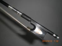 1 PC 품질 밸런스 바이올린 탄소 섬유 활 4/4 1011 #