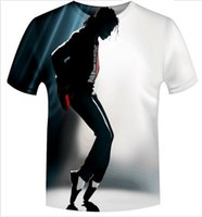 Fashion Sport Clothing Men Women T shirt print Michael Jacks...