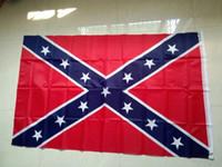 100pcs USA 3x5 Fuß Amerikanische Flagge USA-Flagge 100% Polyester US-Flagge, Flagge der Vereinigten Staaten Verbündete Markierungsfahne Rebellenflaggen