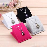 Qualità singolo pendente collana titolare gioielli titolare accessori ornamenti espositore organizzatore rack spedizione gratuita