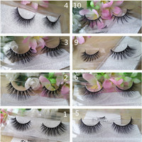 New Styles 3D Mink eyelashes Thick Cross Natural 3D Strip Ey...