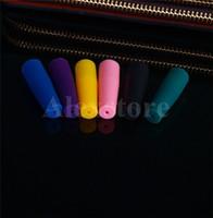 Bocchino in silicone Coperchio antigoccia Monouso Tappi colorati in silicone Tappi lunghi in gomma Consigli per test Tester Cap 510 ego gocciolamento per e cig DHL
